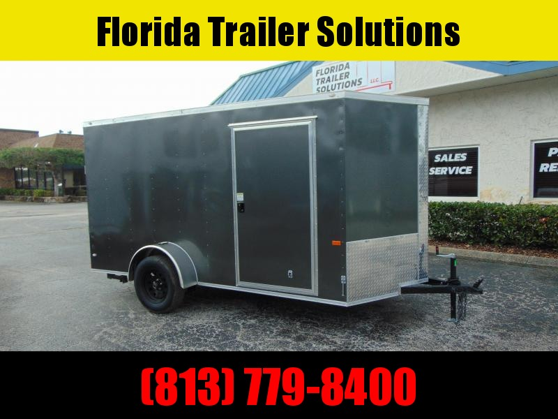 New Rock Solid Cargo 6X12 Enclosed Cargo Trailer