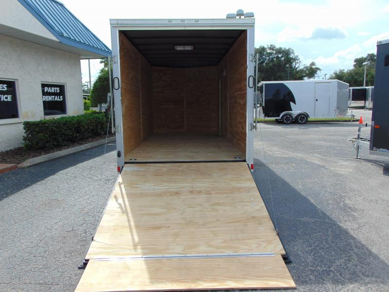 New Rock Solid Cargo 7X16TA Enclosed Cargo Trailer w/7' Interior Height