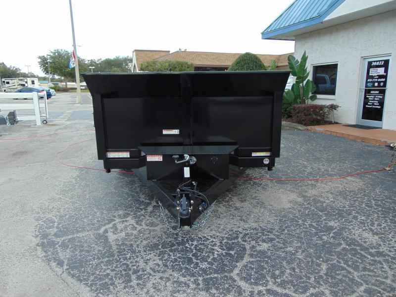 Sure-Trac 82x12 Low Profile 12k Scissor Hoist Dump Trailer