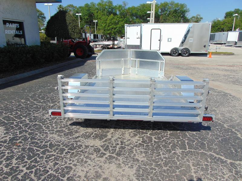 New Bear Track Products 76x132 Motorcycle Trailer