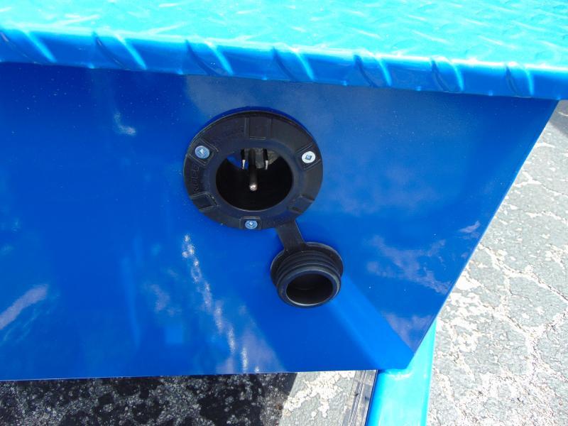 New Sure-Trac 82x16 Low Profile 16k Telescopic Hoist Dump Trailer