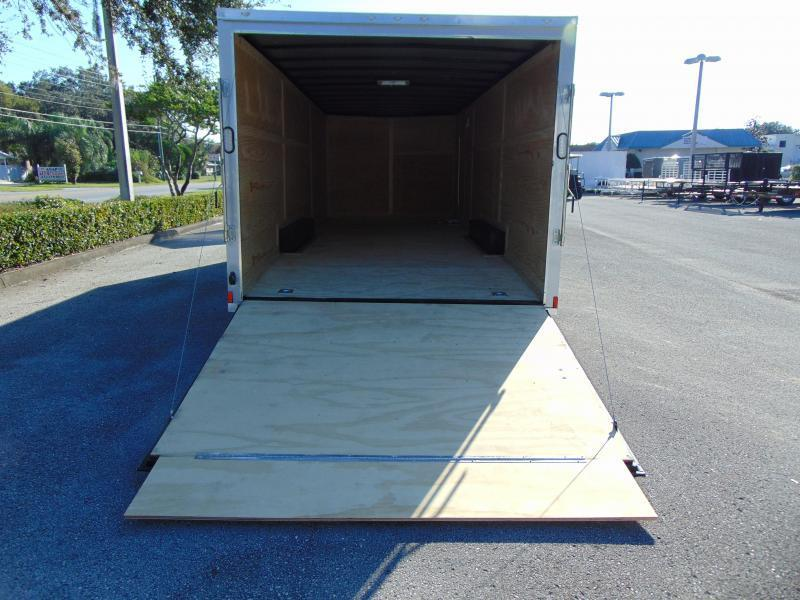 New Rock Solid Cargo 8.5X24 Car / Racing Trailer