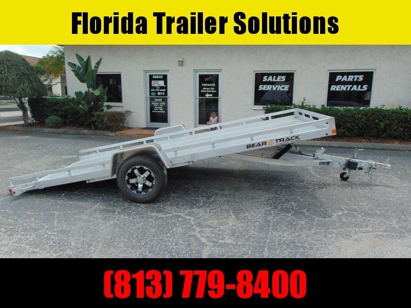 New Bear Track 81X176 All Aluminum Tilt Utility Trailer