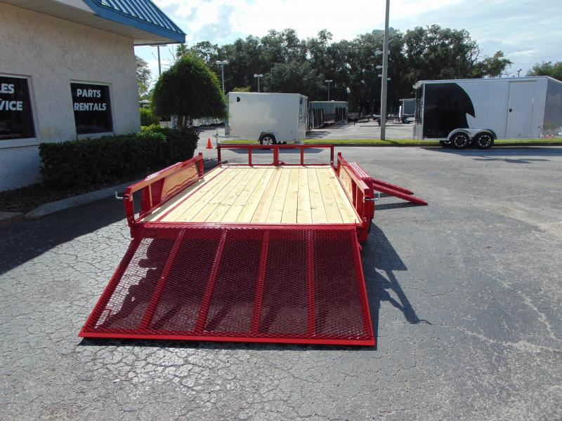 New Sure-Trac 7X14 Tube Top 7K ATV Trailer