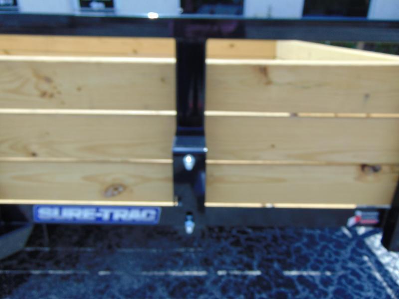 New Sure-Trac 6X10 Tube Top Three Board 3k Utility Trailer