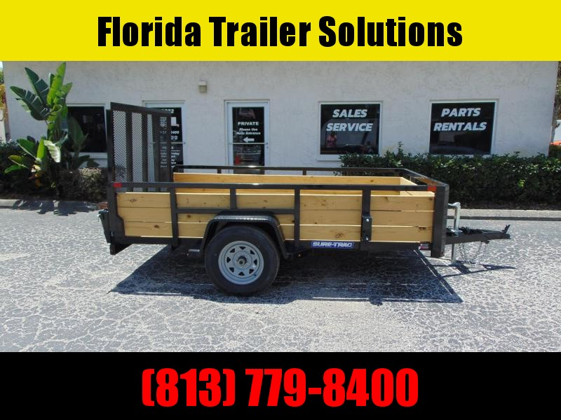 New Sure-Trac 6X10 Tube Top Three Board 3k Utility Trailer