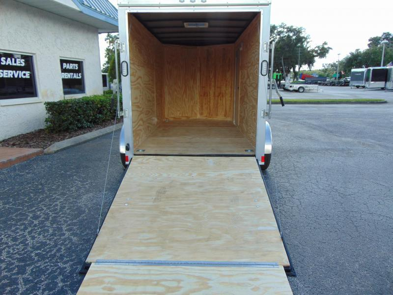 New Rock Solid Cargo 6X12 Tandem Axle Enclosed Cargo Trailer
