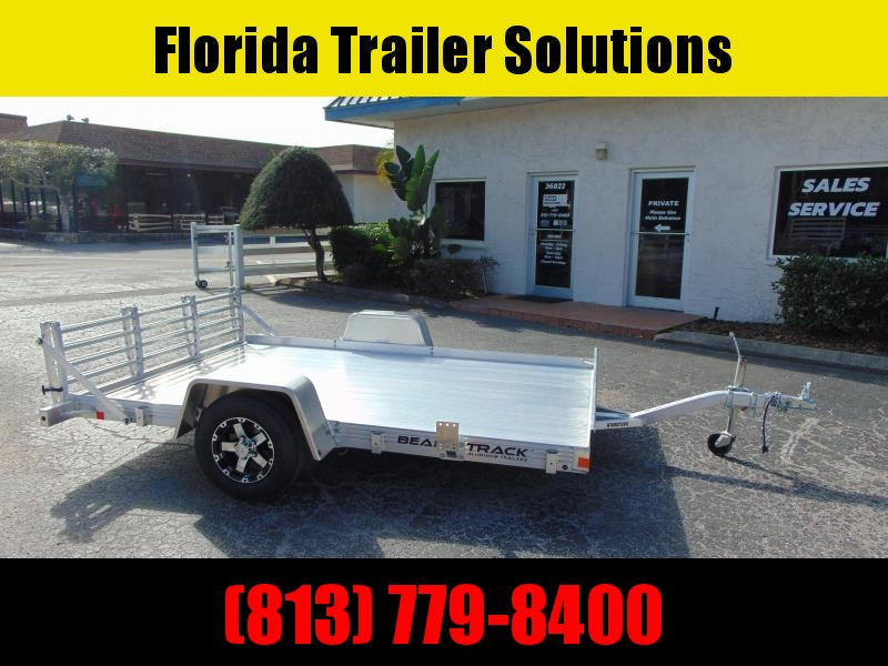 New Bear Track 82X120 All Aluminum Utility Trailer