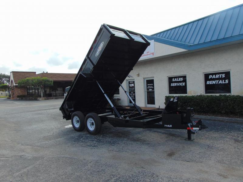 New Bri-Mar 7x14 Low Profile 14k Dump Trailer