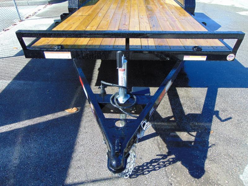 2019 Sure-Trac 7X18 Wood Deck Car Hauler