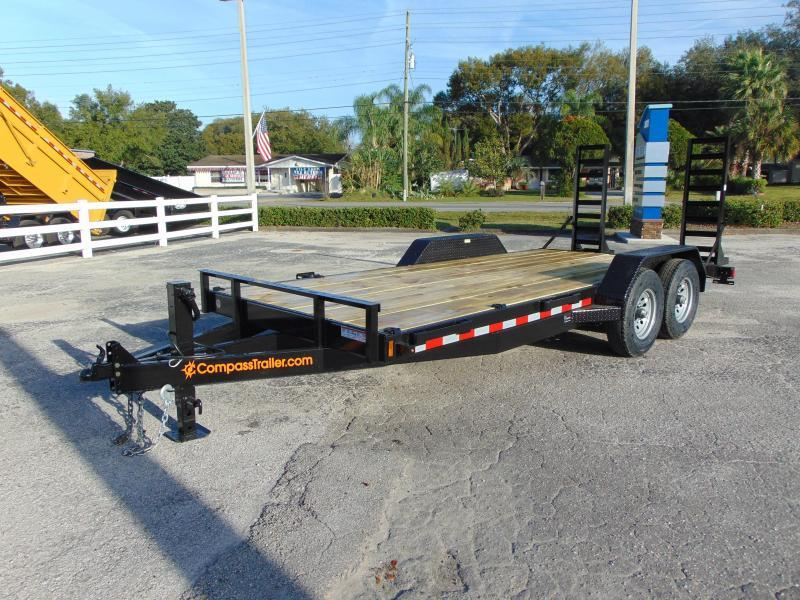 2020 Compass 7X20 Equipment Trailer