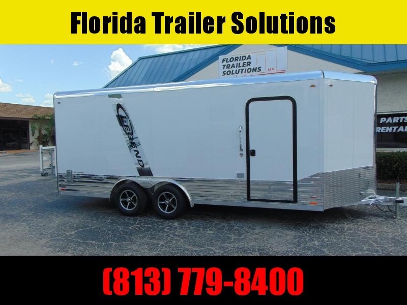 CLEARANCE!  2019 Legend Manufacturing 8X21 All Aluminum Enclosed Cargo Trailer