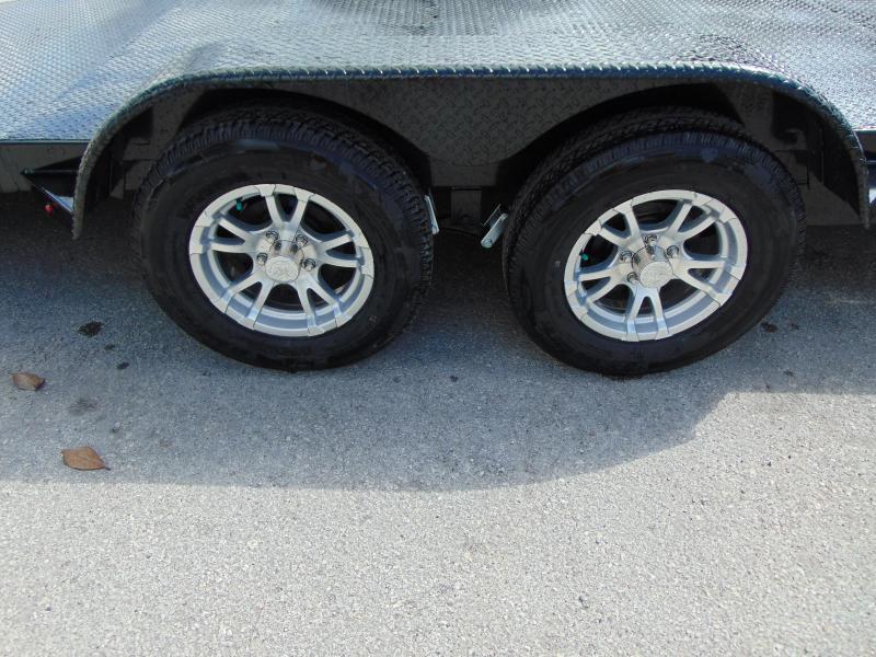 New Sure-Trac 7X18 10K Steel Deck Car Hauler