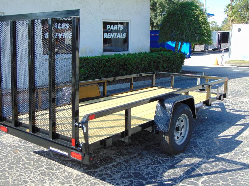 New Sure-Trac 5X12 Tube Top 3k Utility Trailer