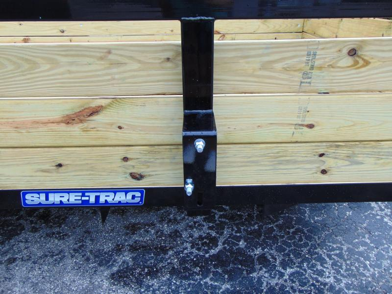 New Sure-Trac 5X12 Tube Top Three Board 3k Utility Trailer