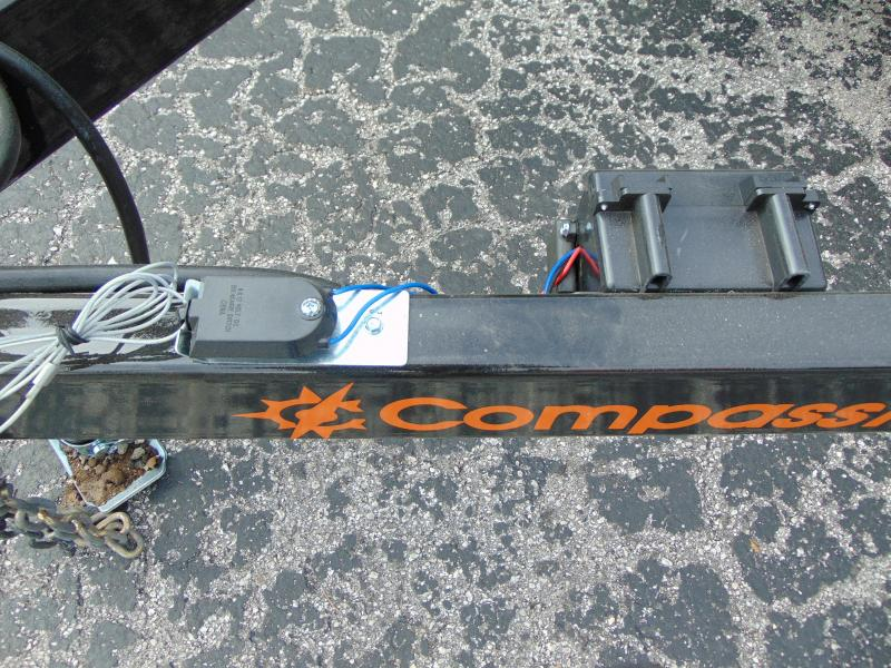 New Compass 7X16 7k Utility Trailer