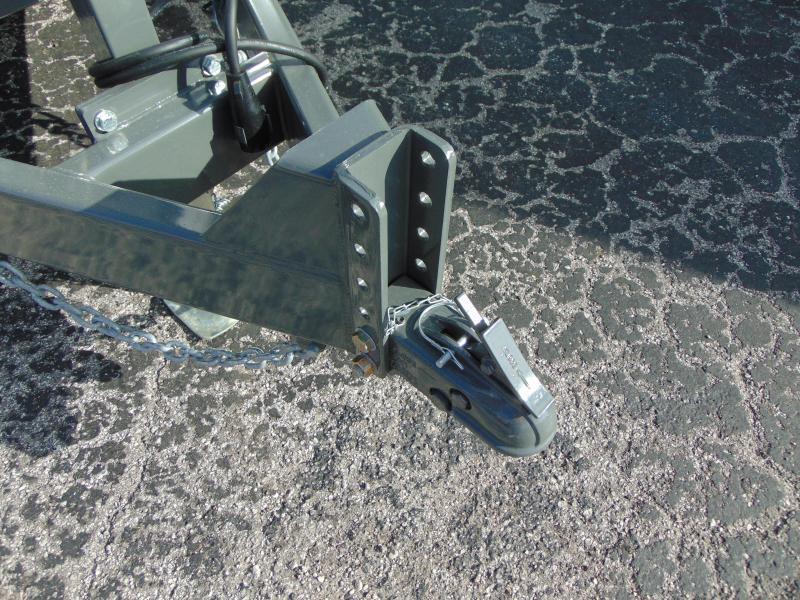 New Sure-Trac 82x12 Low Profile 14k Telescopic Hoist Dump Trailer