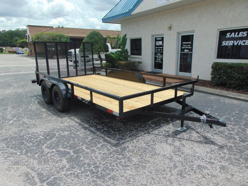 New Worldwide Trailer 7X14 Tandem Axle Utility Trailer