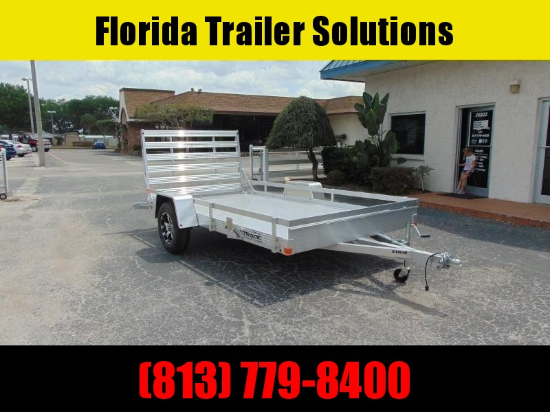 New Bear Track 76X144 All Aluminum Utility Trailer