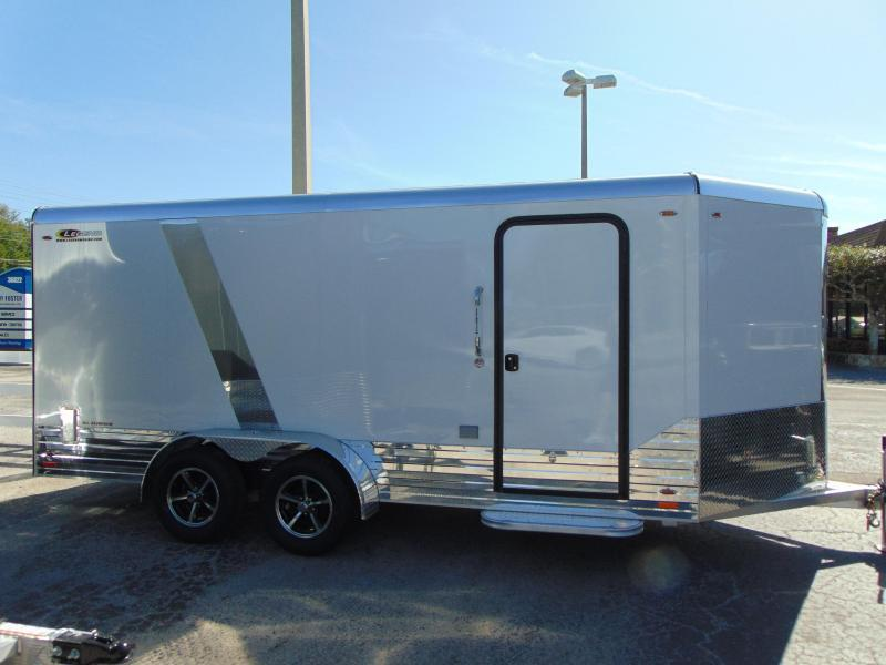 2019 Pre-Owned Legend Manufacturing 7X19 Deluxe V-Nose All Aluminum Enclosed Cargo Trailer