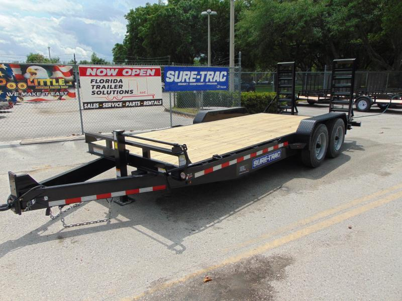 2019 Sure-Trac 7X20 16K Equipment Trailer