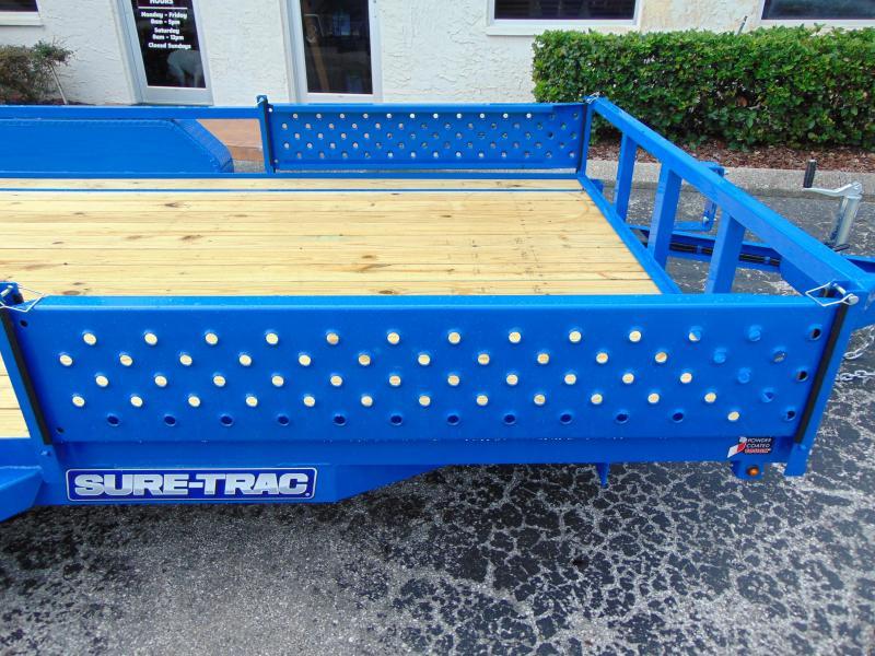 New Sure-Trac 7X14 Tube Top 7K ATV Trailer