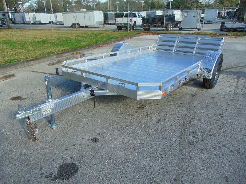 New Legend Trailers 7x12 All Aluminum Utility Trailer w/Gate