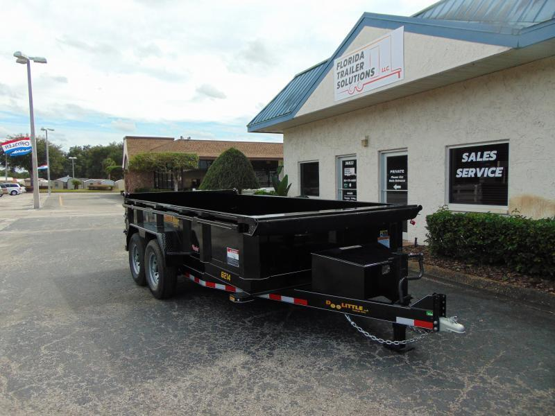 2019 Doolittle Trailer 7x14 Heavy Duty Dump Scissor Lift Trailer