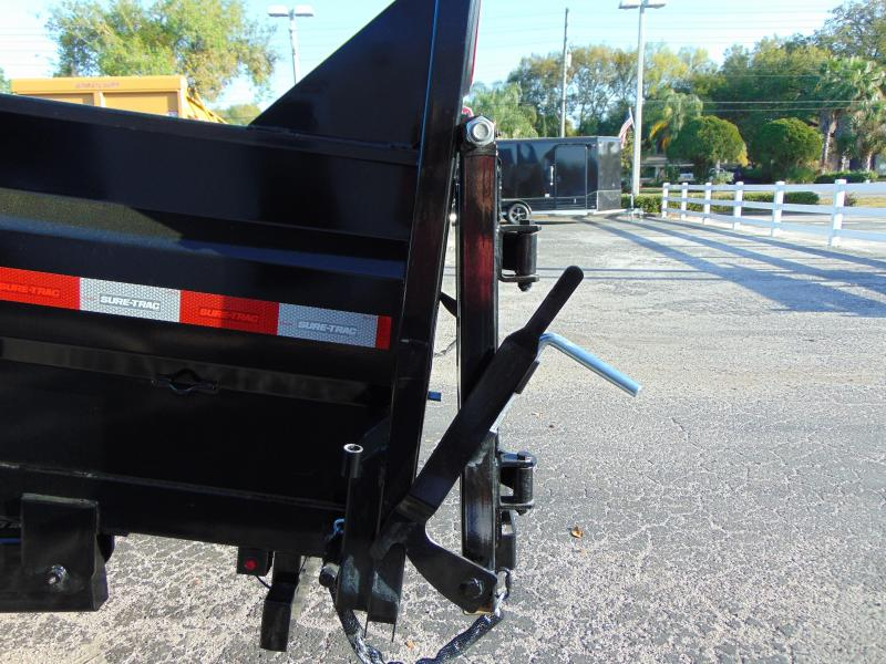 New Sure-Trac 82x16 Low Profile 14k Telescopic Hoist Dump Trailer