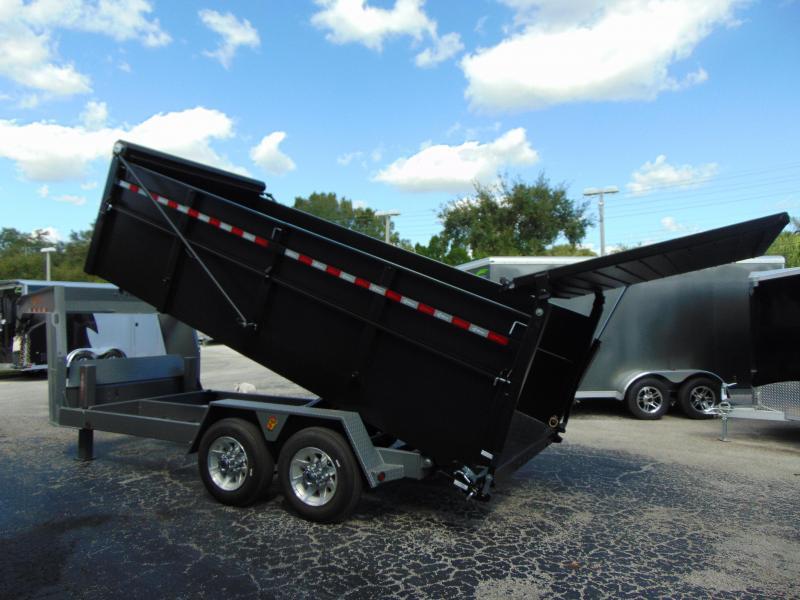 New B-Wise 82X16 Gooseneck Ultimate 19.2k Dump Trailer