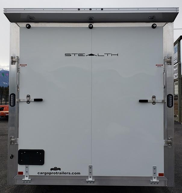 2020 CargoPro Trailers Stealth 7.5x16s UTV Enclosed Cargo Trailer
