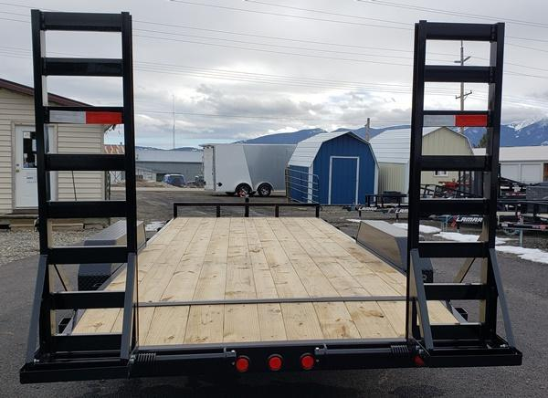 2020 PJ Trailers CE202 Equipment Trailer