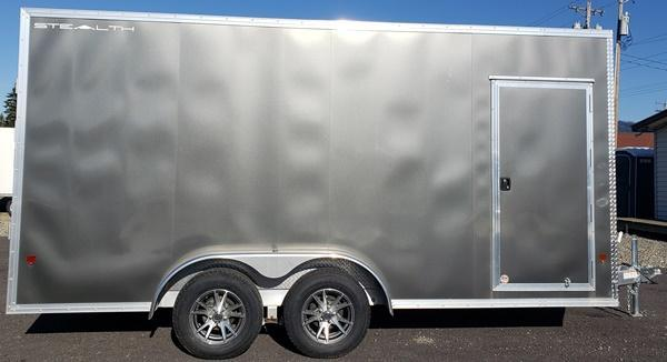 2019 Alcom-Stealth C7.5X16S Enclosed Cargo Trailer