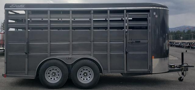 2020 Delta Manufacturing Delta 500 Livestock Trailer