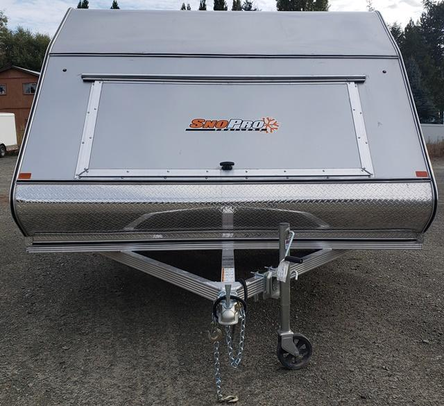 2019 Snopro HYBRID SNOW 101x12 Snowmobile Trailer