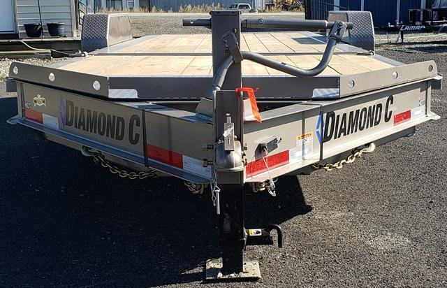 2020 Diamond C Trailers HDT207L22x82 Equipment Trailer