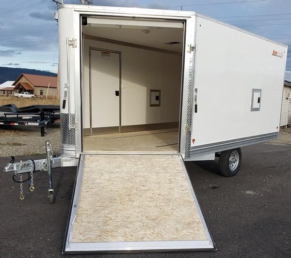 2019 Snopro E101X12 Snowmobile Trailer