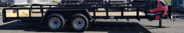 2017 Texas Bragg Trailers UT832052 Utility Trailer