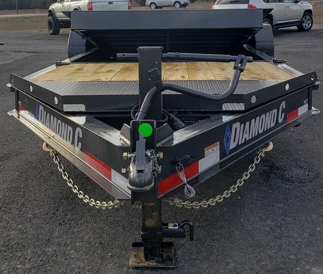 2020 Diamond C Trailers HDT207L20x82 tilt Equipment Trailer