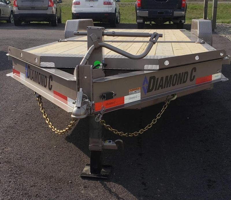 2020 Diamond C Trailers HDT207L22x82 tilt deck Equipment Trailer