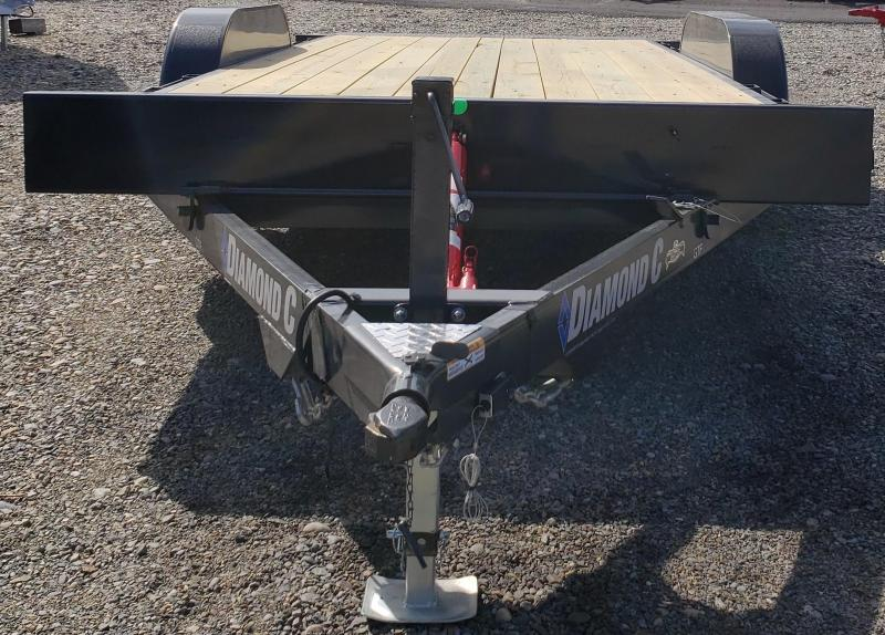 2019 Diamond C Trailers GTF235-L18X83 Car / Racing Trailer