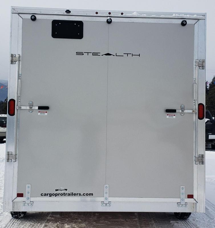 2019 Alcom-Stealth C7.514S Enclosed Cargo Trailer