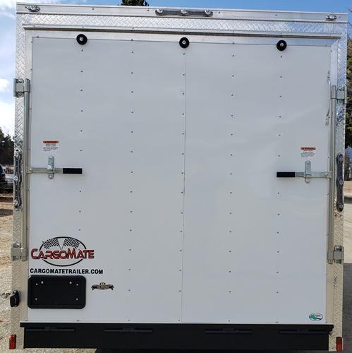 2020 Car Mate Trailers EHW716TA2 Enclosed Cargo Trailer