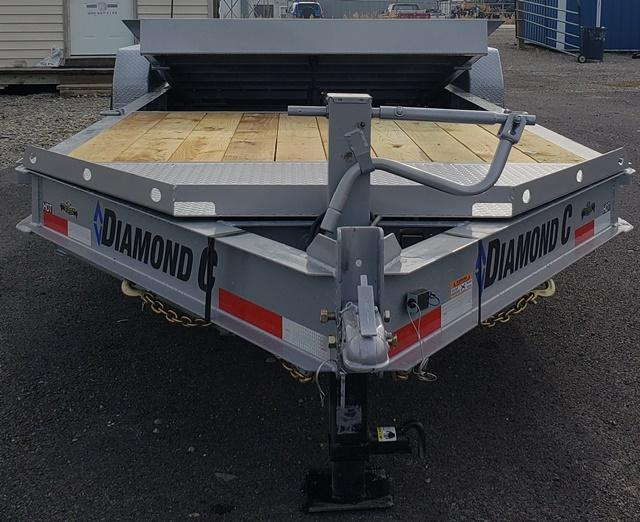 2020 Diamond C Trailers HDT207L22x82 Equipment Trailer