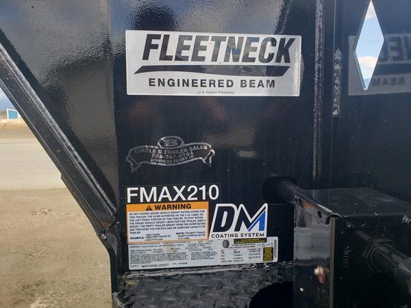 2020 Diamond C Trailers FMAX210L25x102M Gooseneck Flatbed Trailer