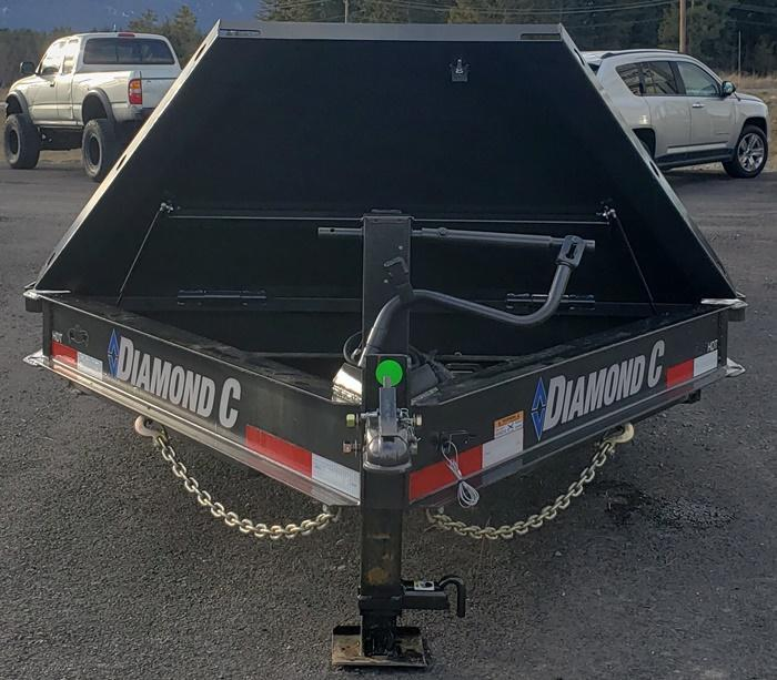 2020 Diamond C Trailers HDT207L20x82 Tilt Deck Equipment Trailer