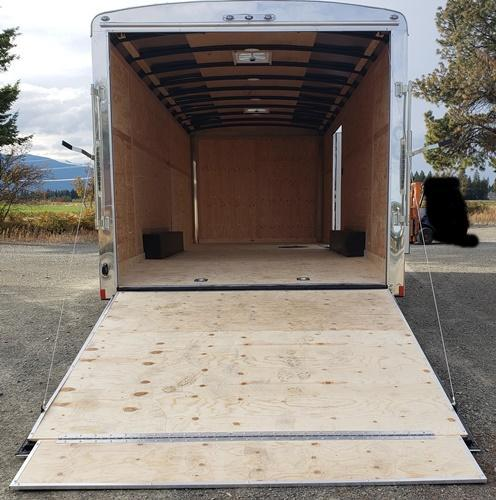 2020 Cargo Mate BL820TA5 Enclosed Cargo Trailer