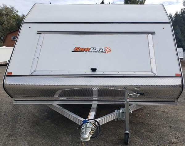 2020 Snopro Hybrid Snow 101x12 Snowmobile Trailer
