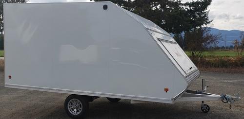 2020 Snopro Hybrid Snow 101x12 Snowmobile Trailer
