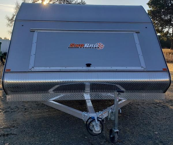 2019 Snopro Hybrid 101x12 Snowmobile Trailer
